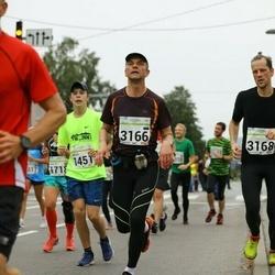 SEB Tallinna Maraton - Artur Võlu (1451), Ilmar Tomusk (3166)