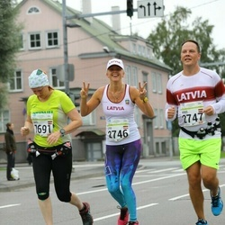 SEB Tallinna Maraton - Daiga Piebalga (1691), Liva Ozolina (2746), Arnis Jursevics (2747)