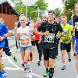 SEB Tallinna Maraton - Tõnis Uueküla (2140), Agnese Valka (2440)