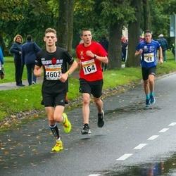 SEB Tallinna Maratoni Sügisjooks 10 km - Christopher Kalev (48), Jan Müür (164)