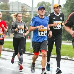 SEB Tallinna Maratoni Sügisjooks 10 km - Rainer Vakra (206), Ago Lilleorg (732)