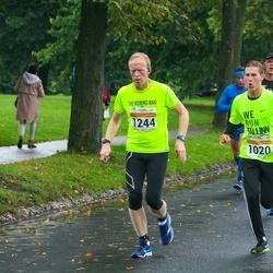 SEB Tallinna Maratoni Sügisjooks 10 km - Rene Aadusoo (1020), Roger Aarmo (1244)