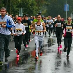 SEB Tallinna Maratoni Sügisjooks 10 km - Kristjan Mark (319), Christina Kallas (439), Annely Kaur (477), Stuart Garlick (4212), Angelina Kaling (4447)