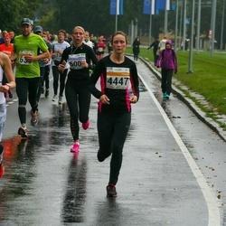 SEB Tallinna Maratoni Sügisjooks 10 km - Christina Kallas (439), Angelina Kaling (4447)