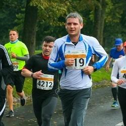 SEB Tallinna Maratoni Sügisjooks 10 km - Annely Kaur (477), Victor Niin (922), Stuart Garlick (4212)