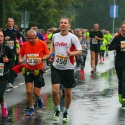 SEB Tallinna Maratoni Sügisjooks 10 km - Aare Treier (450), Aleksandra Dobrõnina (1458)