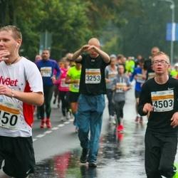 SEB Tallinna Maratoni Sügisjooks 10 km - Aare Treier (450), Alex Hrustov (4503)