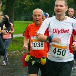 SEB Tallinna Maratoni Sügisjooks 10 km - Aare Treier (450), Manfred Fugger (3038)