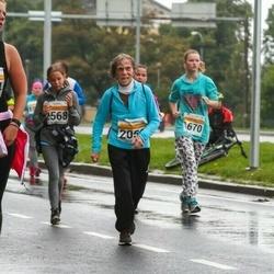 SEB Tallinna Maratoni Sügisjooks 10 km - Moonika Schütz (1670), Helli Elisabet Lill (2568)