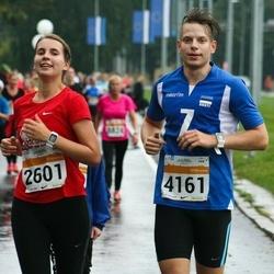 SEB Tallinna Maratoni Sügisjooks 10 km - Annika Kartsepp (2601), Rein Virkunen (4161)