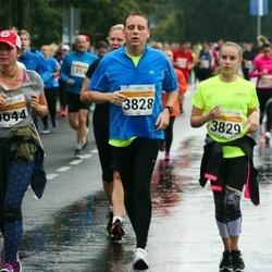 SEB Tallinna Maratoni Sügisjooks 10 km - Andres Pastarus (3828), Annelise Pastarus (3829)