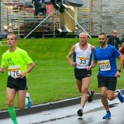 SEB Tallinna Maratoni Sügisjooks 10 km - Ago Veilberg (33), Heinrich Sillang (47), Karol Hanga (176), Espen Egeland Valseth (3030)