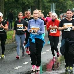 SEB Tallinna Maratoni Sügisjooks 10 km - Agne Vilt (833), Liivi Tenno (840), Carolina Kukk (2061), Rene Uusmees (3563)