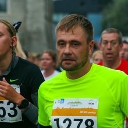 SEB Tallinna Maratoni Sügisjooks 10 km - Elis Märks (863), Toomas Kalda (1278)
