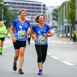 SEB Tallinna Maraton - Tomma Hangen (1289), Agnes Voges (1292)