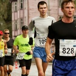 SEB Tallinna Maraton - John Cottam (105), André Abner (192), Sten Pisang (828)