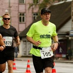 SEB Tallinna Maraton - John Cottam (105), André Abner (192), Pasi Pentikäinen (1870)