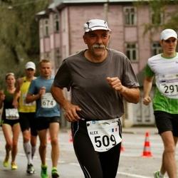 SEB Tallinna Maraton - Karl Kaljumäe (291), Alex Beernaerd (509)