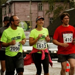 SEB Tallinna Maraton - Gert Kello (410), Anneliis Vallimäe (1613), Rene Vallimäe (2096)