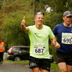 SEB Tallinna Maraton - Andre Kaaver (687), Alexey Agafonov (695)