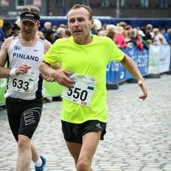 SEB Tallinna Maraton - Aarne Nõmberg (550), Ari Kilpinen (633)