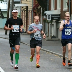 SEB Tallinna Maraton - Jonathan Dilley (152), Risto Tamme (203), Artur Praun (1743)