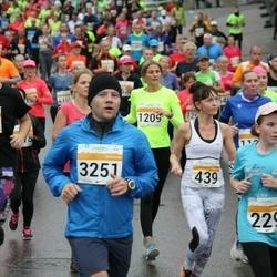 SEB Tallinna Maratoni Sügisjooks 10 km - Tatiana Ignatieva (229), Christina Kallas (439), Mairi Zernand (1209), Mihkel Saar (2977), Tivo Võhmar (3251)