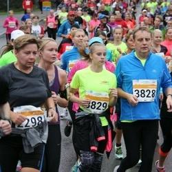 SEB Tallinna Maratoni Sügisjooks 10 km - Anne Jammer (2880), Andres Pastarus (3828), Annelise Pastarus (3829)