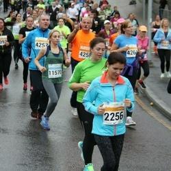 SEB Tallinna Maratoni Sügisjooks 10 km - Anna Semenova (2256), Jelena Vassiljeva (11570)
