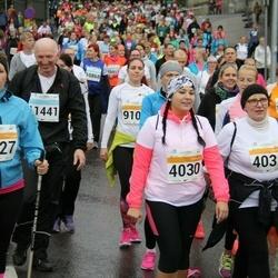 SEB Tallinna Maratoni Sügisjooks 10 km - Liisa Salus (4030), Merike Allas (4031), Õie Viira (8627), Anatoly Medvedev (11441)