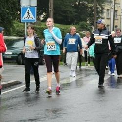 SEB Tallinna Maratoni Sügisjooks 10 km - Aleksei Iljin (8032), Triin Asi (8322)