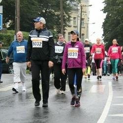 SEB Tallinna Maratoni Sügisjooks 10 km - Maryna Ilyina (8031), Aleksei Iljin (8032)