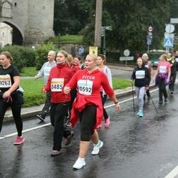 SEB Tallinna Maratoni Sügisjooks 10 km - Anne-Ly Tuul (8485), Annika Kvelstein (10592)