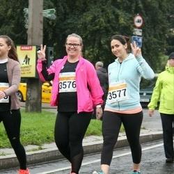 SEB Tallinna Maratoni Sügisjooks 10 km - Eleen Sitska (3576), Afina Berget-Sadõhov (3577)
