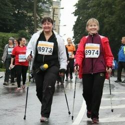 SEB Tallinna Maratoni Sügisjooks 10 km - Hilja Egorov (8973), Anneli Tokman (8974)
