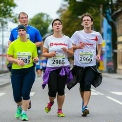 SEB Tallinna Maraton - Anneli Aru (1986), Anna Remmelgas (2965), Priit Remmelgas (2966)