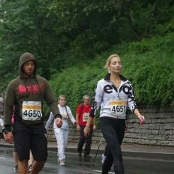 SEB Tallinna Maratoni Sügisjooks 10 km - Alik Lapidus (4650), Anna Teplinskaja (4651)