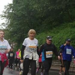 SEB Tallinna Maratoni Sügisjooks 10 km - Anastassia Kornõšenkova (1663), Taavo Soodla (2649)