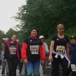 SEB Tallinna Maratoni Sügisjooks 10 km - Anastasia Vennikas (8940), Signe Teder (8941)