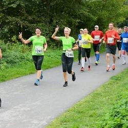 SEB Tallinna Maraton - Anja Schallenberg (1240), Sigrid Blum (1241)