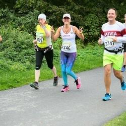 SEB Tallinna Maraton - Liva Ozolina (2746), Arnis Jursevics (2747)