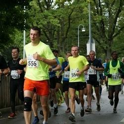 SEB Tallinna Maraton - Aarne Nõmberg (550), Peeter Tubli (556), Martin Harper (1615), Emmanuel Oppong (1616)