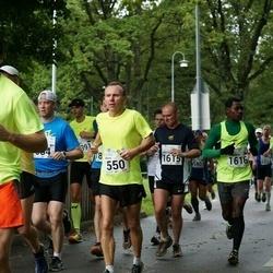 SEB Tallinna Maraton - Aarne Nõmberg (550), Martin Harper (1615), Emmanuel Oppong (1616)