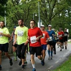 SEB Tallinna Maraton - Tiit Maas (1406), Aare Kesamaa (1631), Ülar Vaadumäe (1884)
