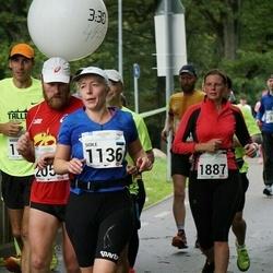 SEB Tallinna Maraton - Soile Sild (1136), Anu Lillemägi (1887), Aare Huik (2050)
