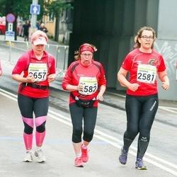 SEB Tallinna Maraton - Johanna Malm (2581), Arja Virtanen (2582), Johanna Keränen (2657)