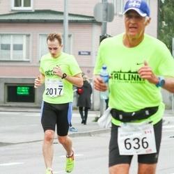 SEB Tallinna Maraton - Benoit Rancourt (636), Enar Mustonen (2017)