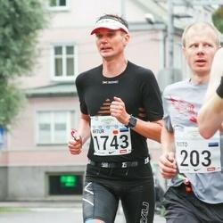 SEB Tallinna Maraton - Risto Tamme (203), Artur Praun (1743)