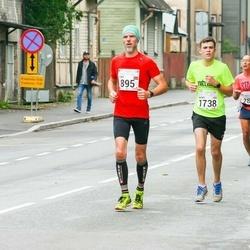 SEB Tallinna Maraton - Toms Pastars (895), Bobby Humphrey (1738)
