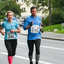 SEB Tallinna Maraton - Juris Vizums (115), Annika Vaher (240)